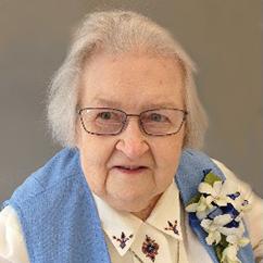 Sr. Helen Louise Schmitz, OSU