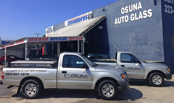 Get To Know Us | Osuna Auto Glass