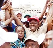 Jubilant Comrade Adams Oshiomhole