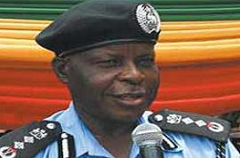 Police Inspector General, Sir Mike Okiro