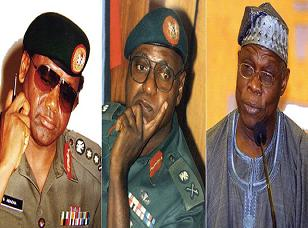 AliBaba Generals of Nigeria - Abacha, AbdulSalam, Obasanjo