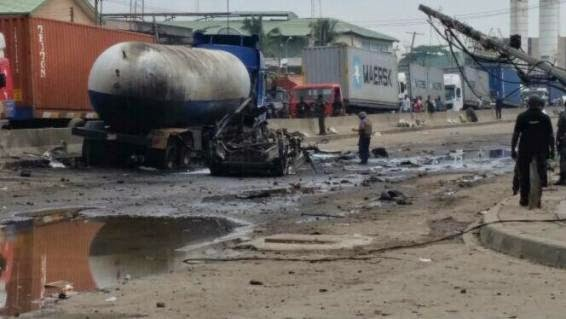 Lagos Explosion Caused By Fuel-Laden Tanker, Not Bomb – PPR Officer