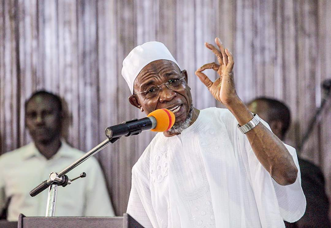 """Image result for Accept hardship as price for building a new Nigeria"""" – Osun State Governor, Rauf Aregbesola"""