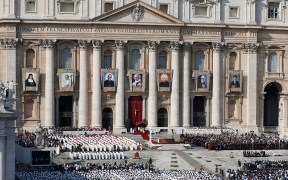POPE CANONIZATION VATICAN