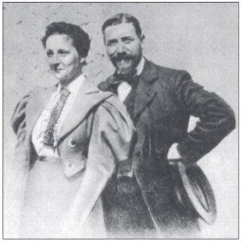 Elisabeth and Felix Leseur