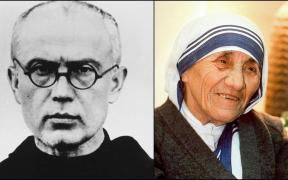 Sts. Maximilian Kolbe and St. Teresa of Calcutta