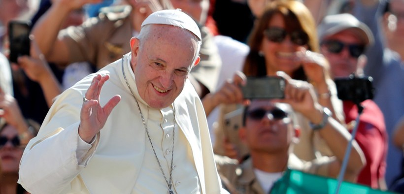 POPE FRANCIS WEEKLY AUDIENCE