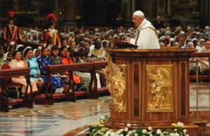 Pope Francis homily