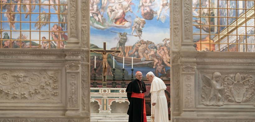MOVIE 'TWO POPES'