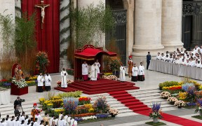 POPE EASTER VATICAN