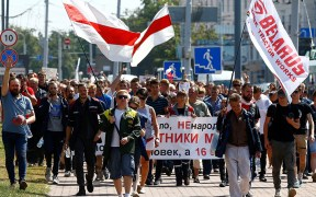 BELARUS ELECTIONS PROTESTS