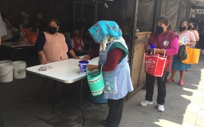 MEXICO SOUP KITCHEN COVID-19