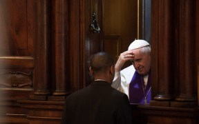 FILE POPE FRANCIS CONFESSION