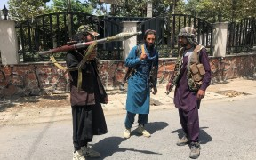AFGHANISTAN TALIBAN TAKEOVER