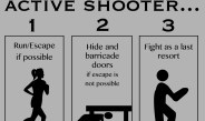 University Police instructs active shooter procedure