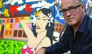 Oswego alum art showcased on campus