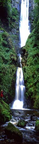 Llanrhaeadr waterfall