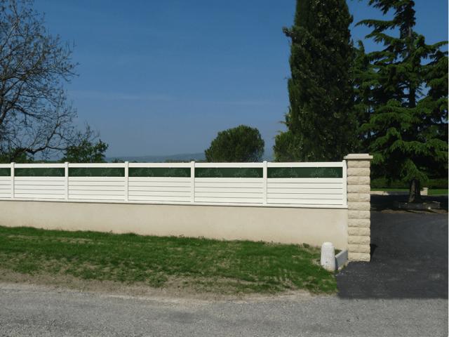 Clôture PVC + DIBON
