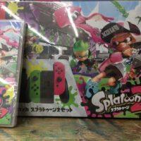 【ゲーム】スイッチスプラトゥーン2セット入荷!さらにスイッチ買取価格UP!