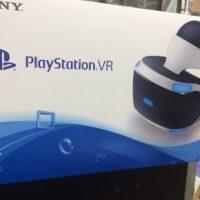 【ゲーム】PSVR入荷!しかも未開封品です!