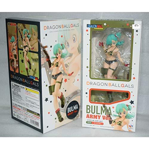 Dragon Ball Bulma mit Militäruniform Bikini Anime Figur