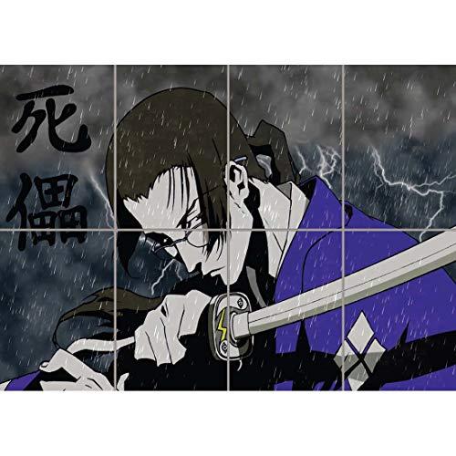 samurai champloo jin with sword anime wand kunst