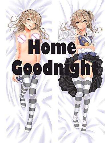 Home Goodnight Arisu Shimada - Girls und Panzer 160 x 50cm(62.9in x 19.6in) Peach Skin Kissenbezug