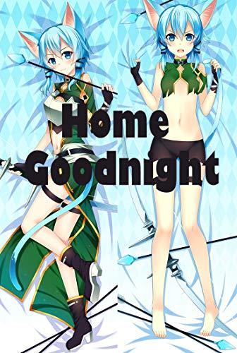 Home Goodnight Sword Art Online Asada Shino 160 x 50cm(62.9in x 19.6in) Peach Skin Kissenbezug