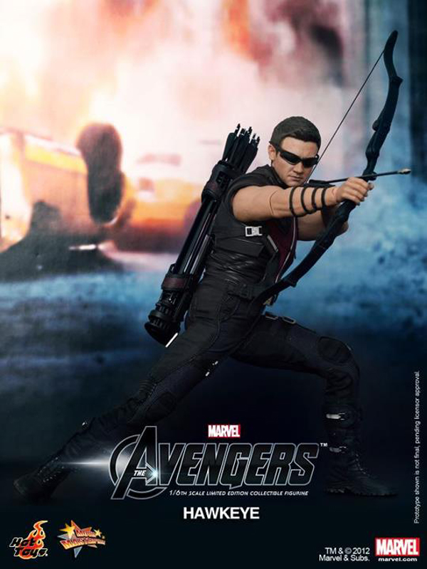 Preview | Hot Toys: Avengers Hawkeye (9)