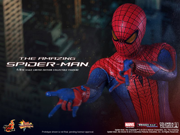 Preview   Hot Toys: Amazing Spiderman (3)