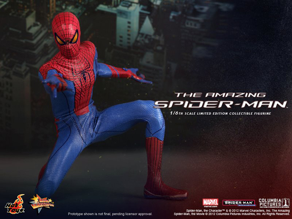 Preview   Hot Toys: Amazing Spiderman (8)