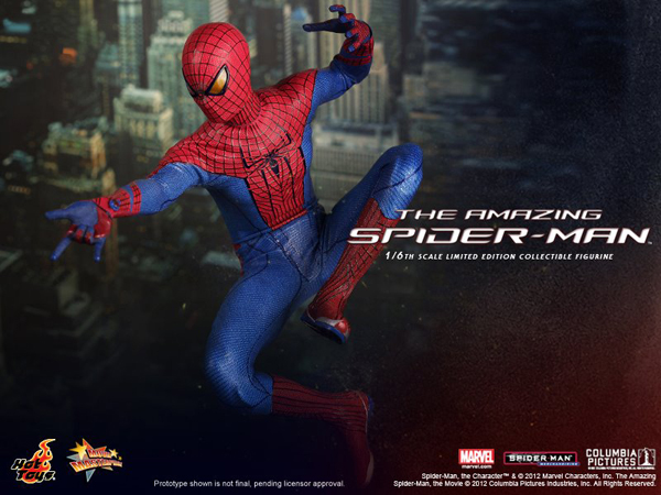 Preview   Hot Toys: Amazing Spiderman (10)