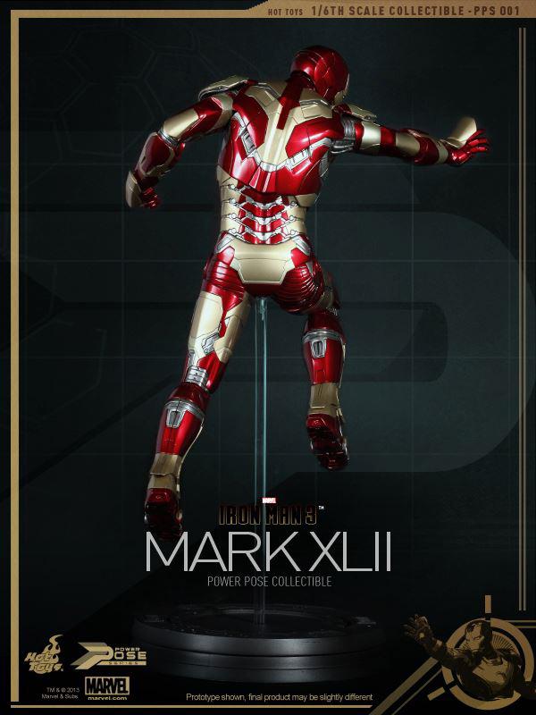 Preview   Hot Toys: Iron Man Mk XLII (Power Pose Series) (2)