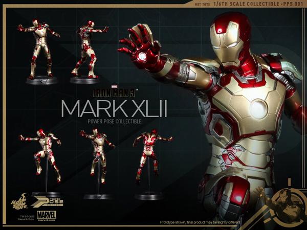 Preview | Hot Toys: Iron Man Mk XLII (Power Pose Series) (6)