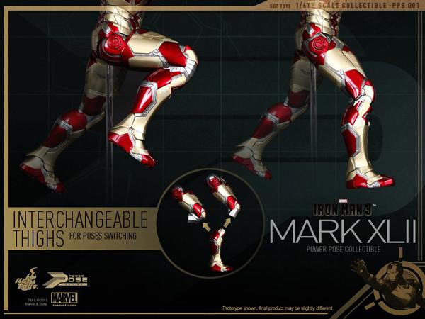 Preview | Hot Toys: Iron Man Mk XLII (Power Pose Series) (14)