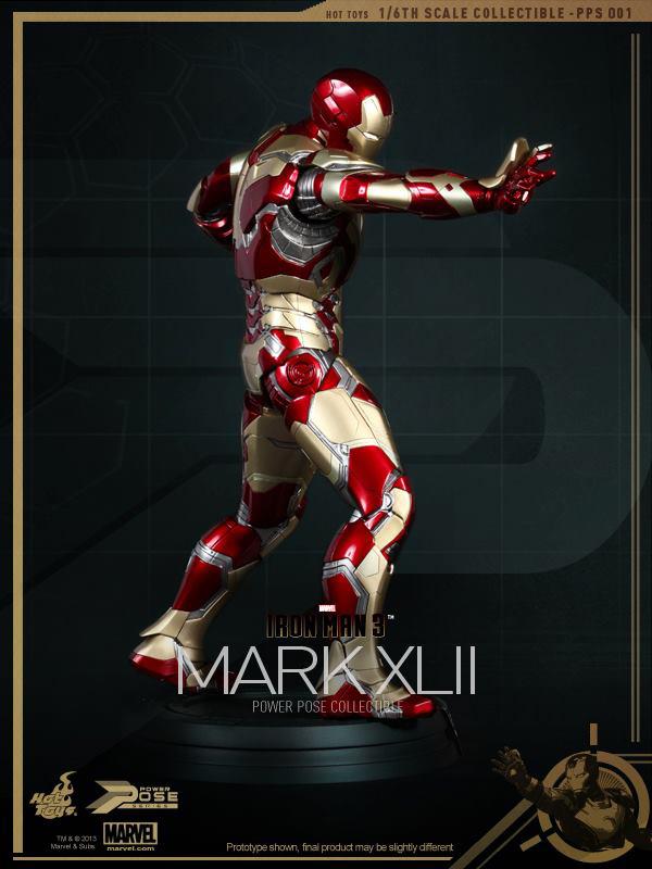 Preview | Hot Toys: Iron Man Mk XLII (Power Pose Series) (18)