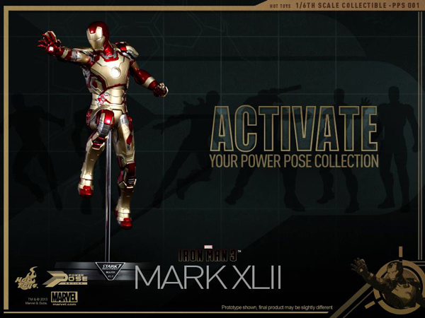 Preview   Hot Toys: Iron Man Mk XLII (Power Pose Series) (4)