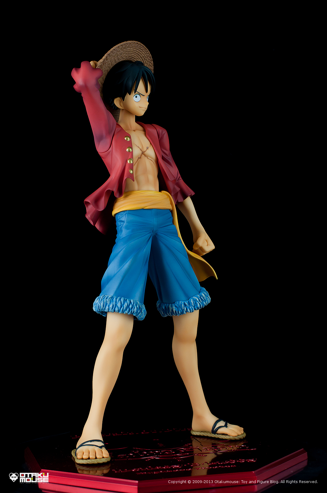 "Review | Megahouse: Monkey D. Luffy (Portrait Of Pirates ""Sailing Again"") (6)"