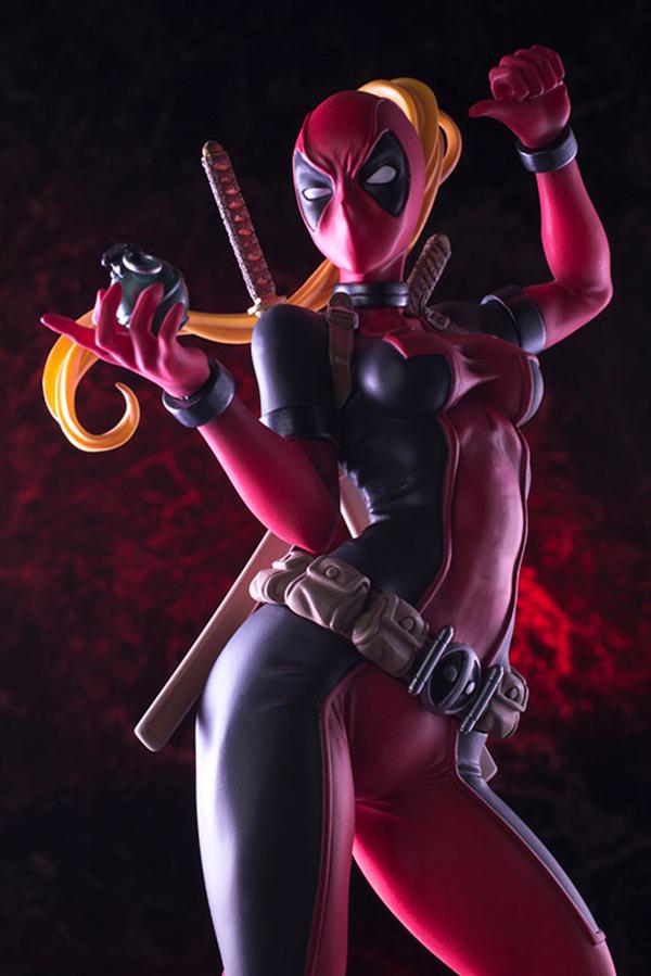 Preview   Kotobukiya: Lady Deadpool (15)