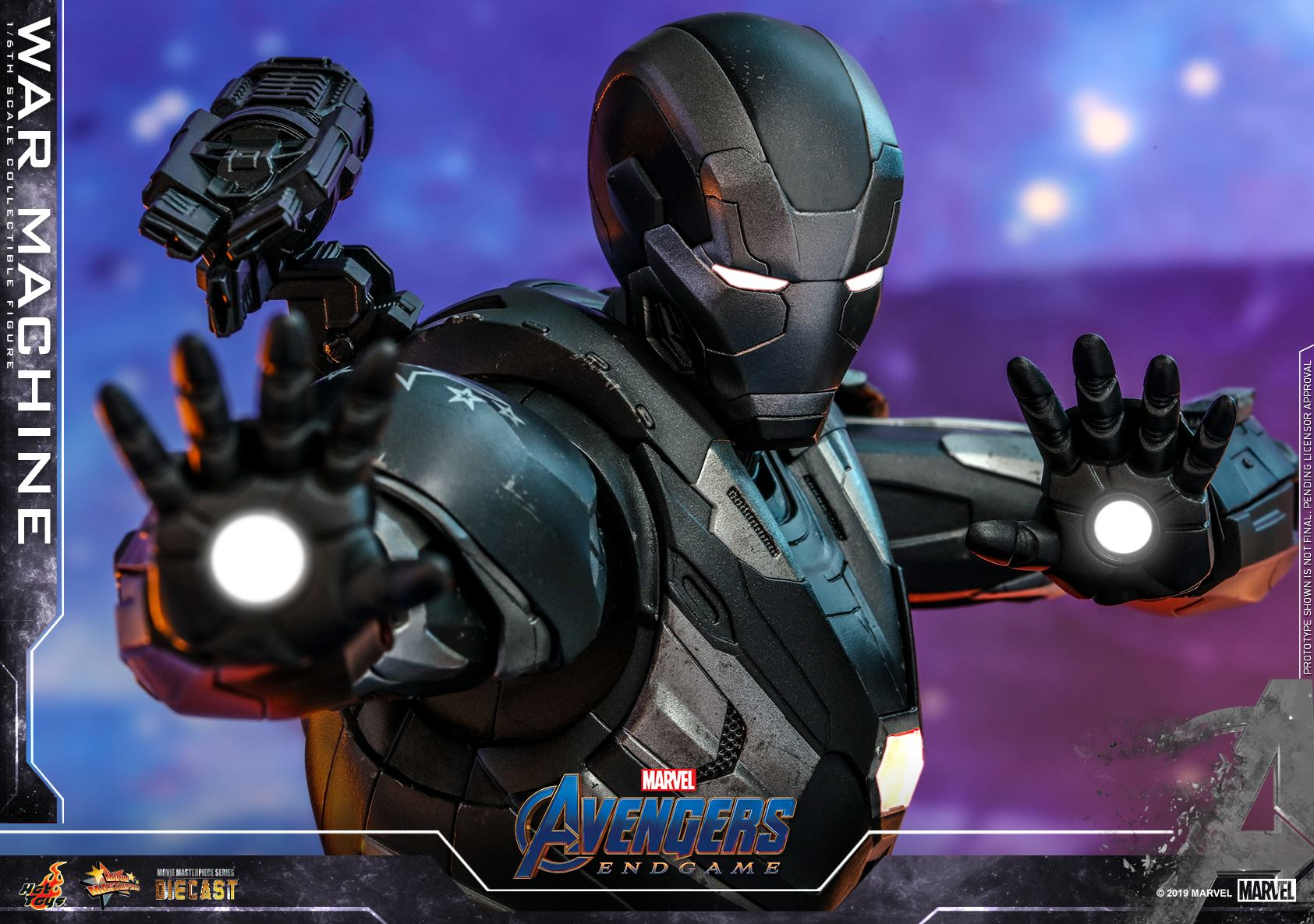 Hot Toys 1/6 War Machine (Avengers: Endgame)