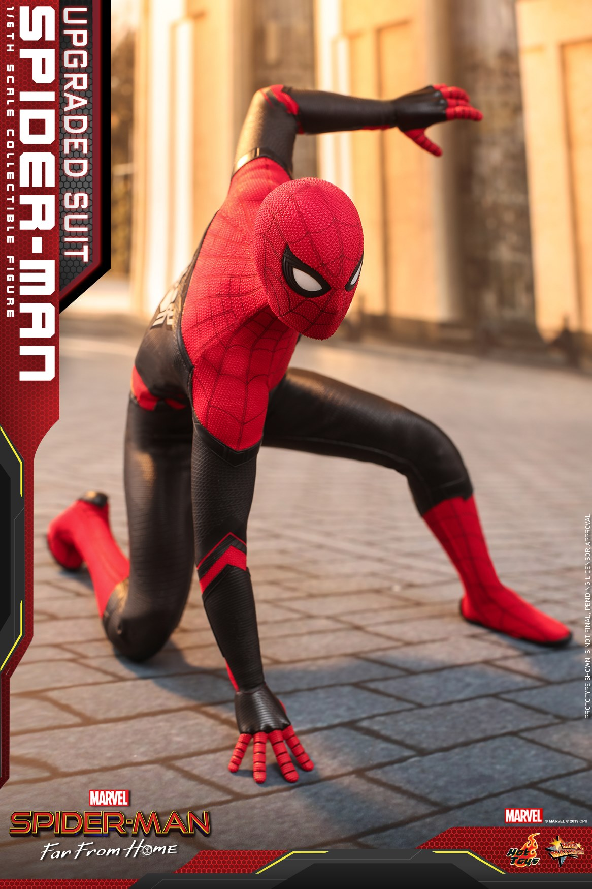 Hot Toys 1/6 Spider-Man (Upgraded Suit)