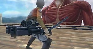 Attack on Titan para a 3DS - Gameplay