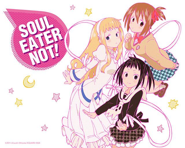 Soul Eater Not! vai ser anime