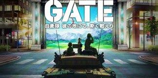 Gate: Jieitai Kanochi nite, Kaku Tatakaeri vai ser anime