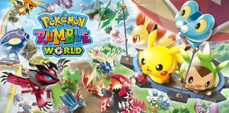 Toy Pokémon em Pokémon Rumble World