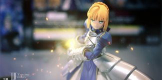 Saber vs Archer - Stop Motion de Fate/Stay Night