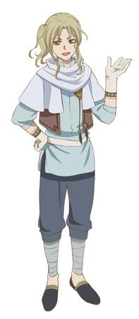 Sachi Kokuryu como Kazuki, um misterioso homem à procura de Shirayuki