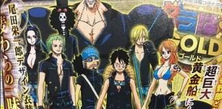 One Piece Film: Gold - imagens promocionais
