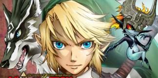 Zelda: Twilight Princess - imagem promocional do manga