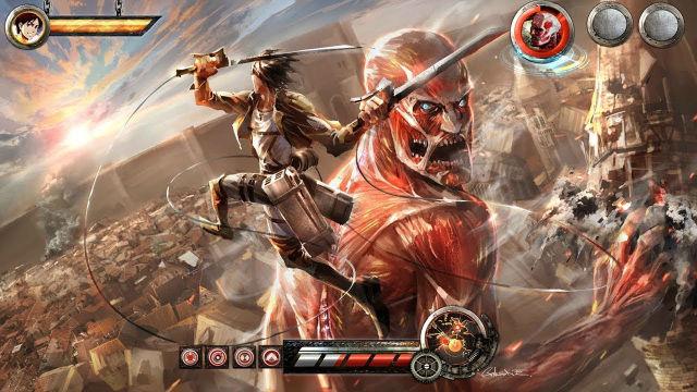 Attack on Titan vai ter jogo para smartphones